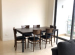 3. Nassim apartment for rent in District 2 -dinner table