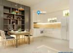 phòng khách + bếp the sunavenue (2)