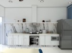 2. Palm Residence for rent - kitchen