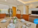 3. Diamond Island for rent - dinner table