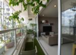 2. Sunrise City for rent - balcony