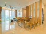 2. Living room & dinner table