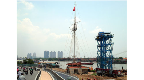 Ho Chi Minh City to revamp 155-year-old Thu Ngu Flag Tower