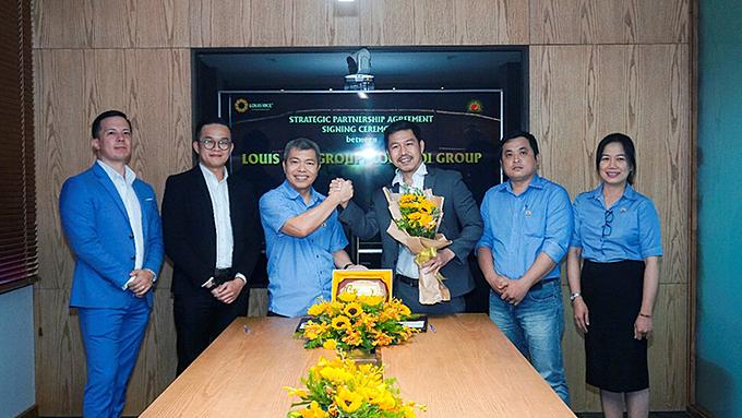 Loc Troi Group, Louis Rice form strategic partnership