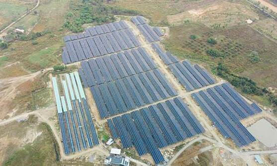 Song Binh solar farm to energize national grid